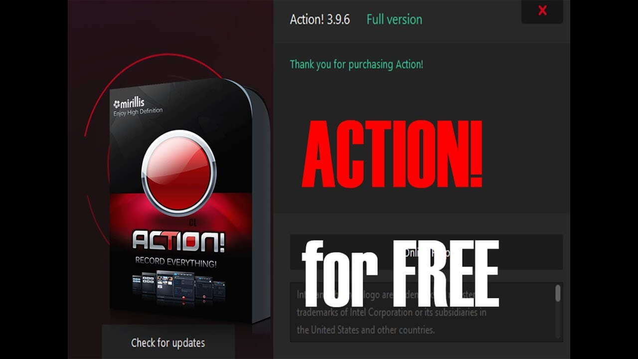 Action Screen Recorder crack
