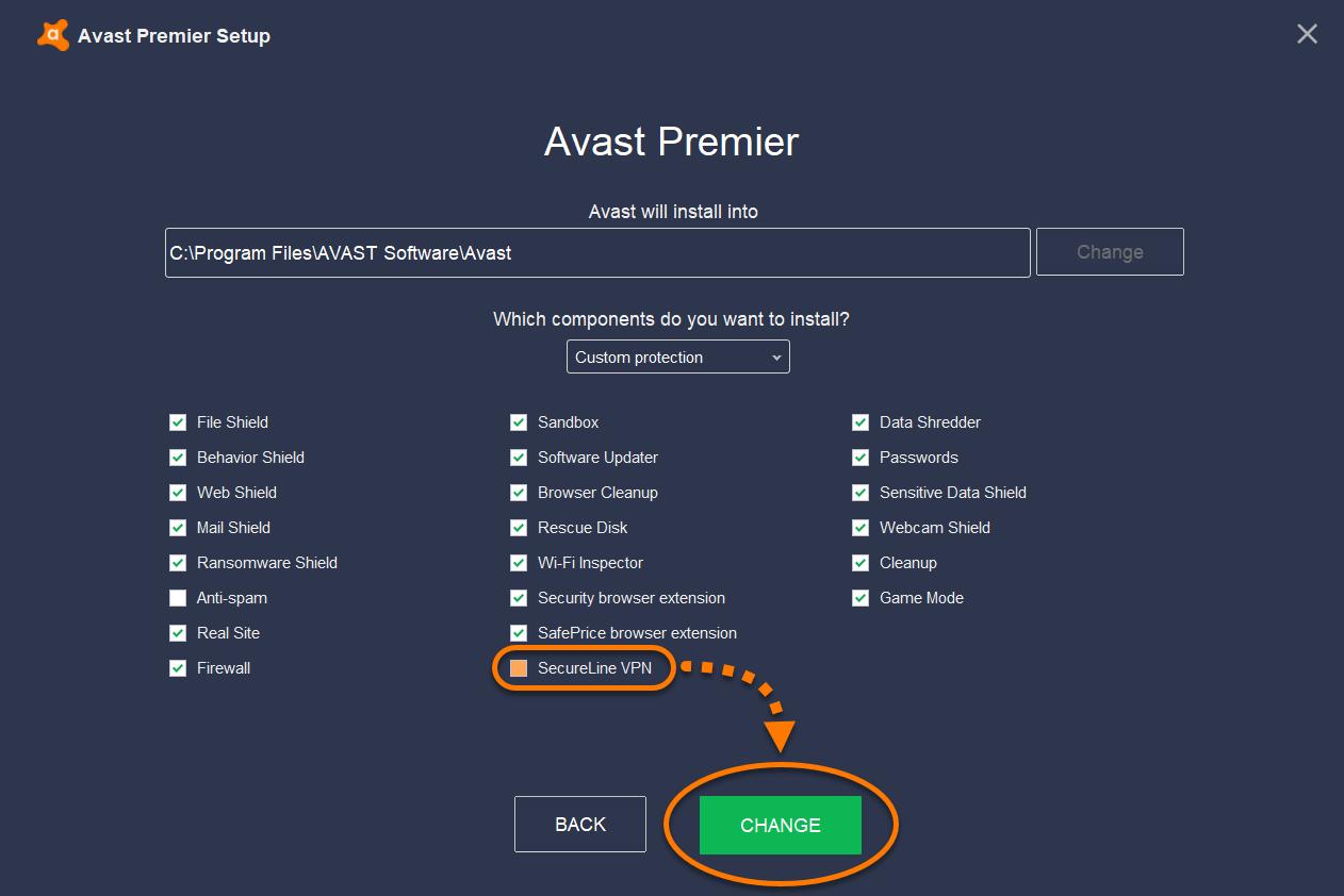Avast SecureLine VPN keygen