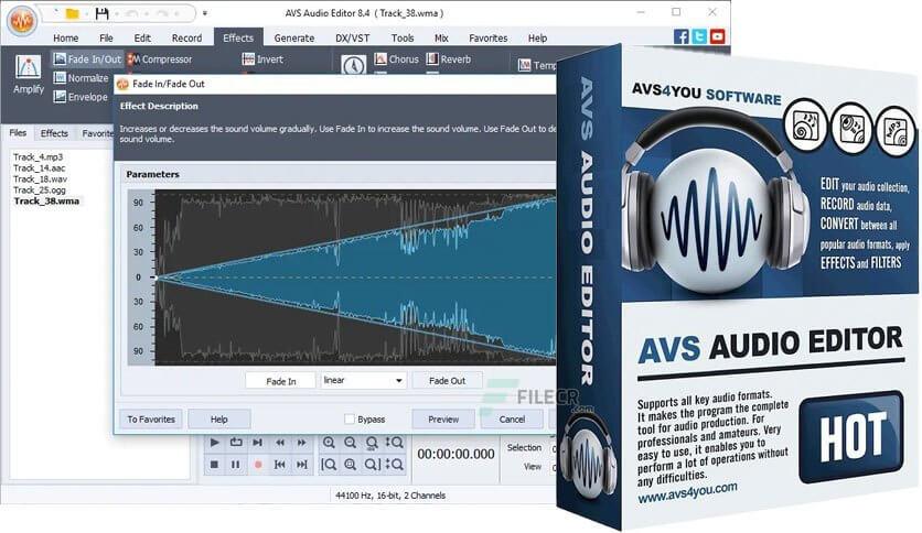 AVS Audio Editor Crack