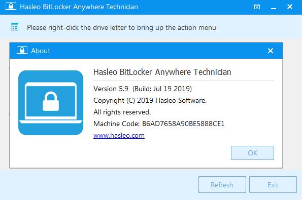 Hasleo-BitLocker-Anywhere srial key