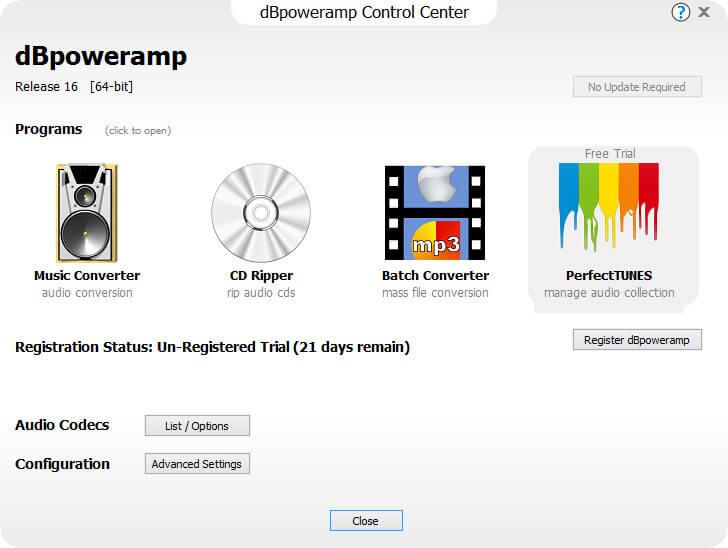 dBpoweramp Music Converter keygen
