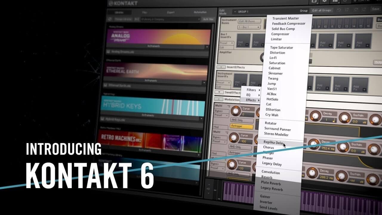 Native Instruments Kontakt 6 Latest Version Crack 2020 Free Download