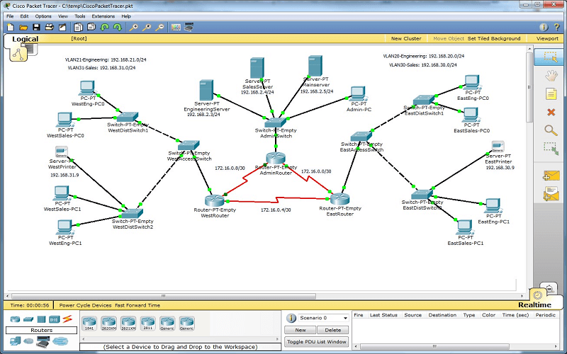 Cisco Packet Tracer 7.3.1 free crack