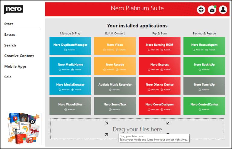 Nero Platinum Free Keygen