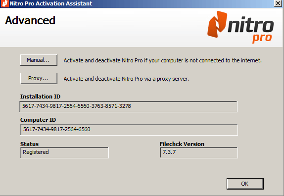 Nitro Pro serial key