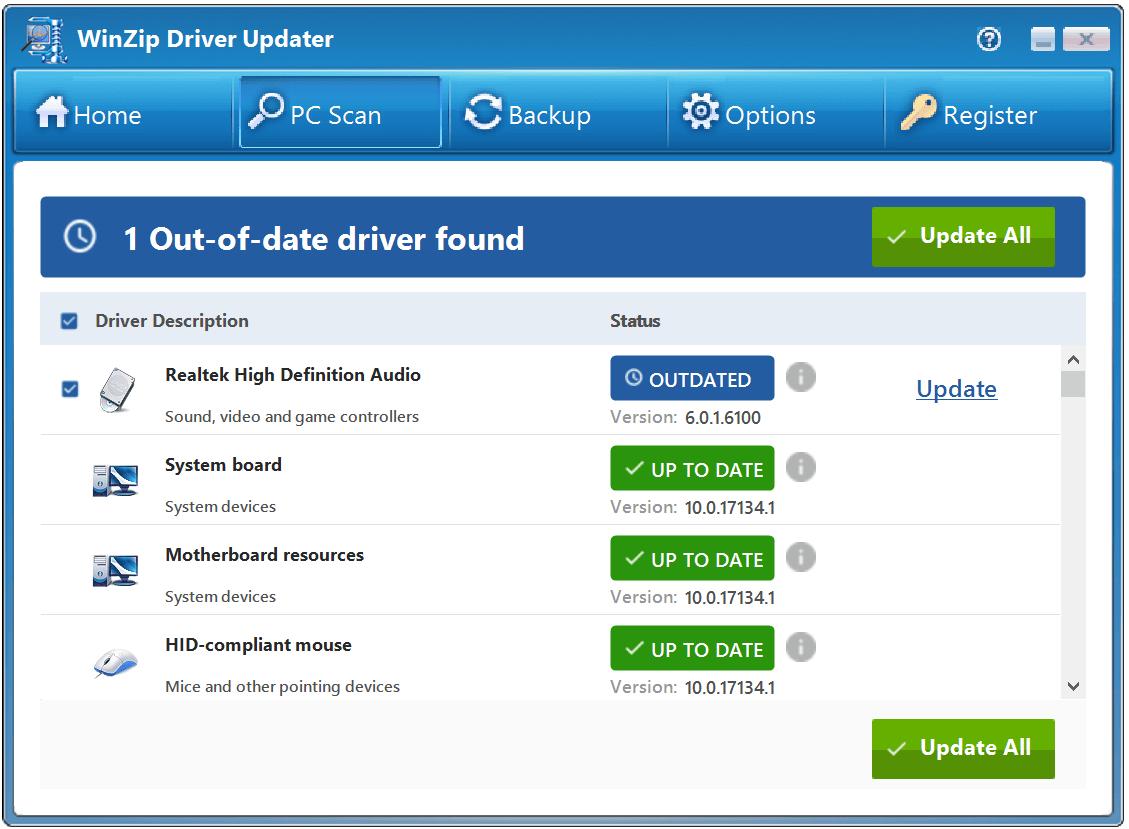 WinZip Driver Updater free crack