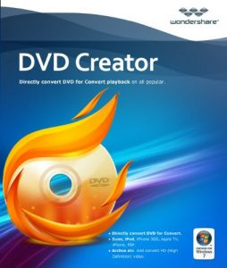 Wondershare DVD Creator serial key