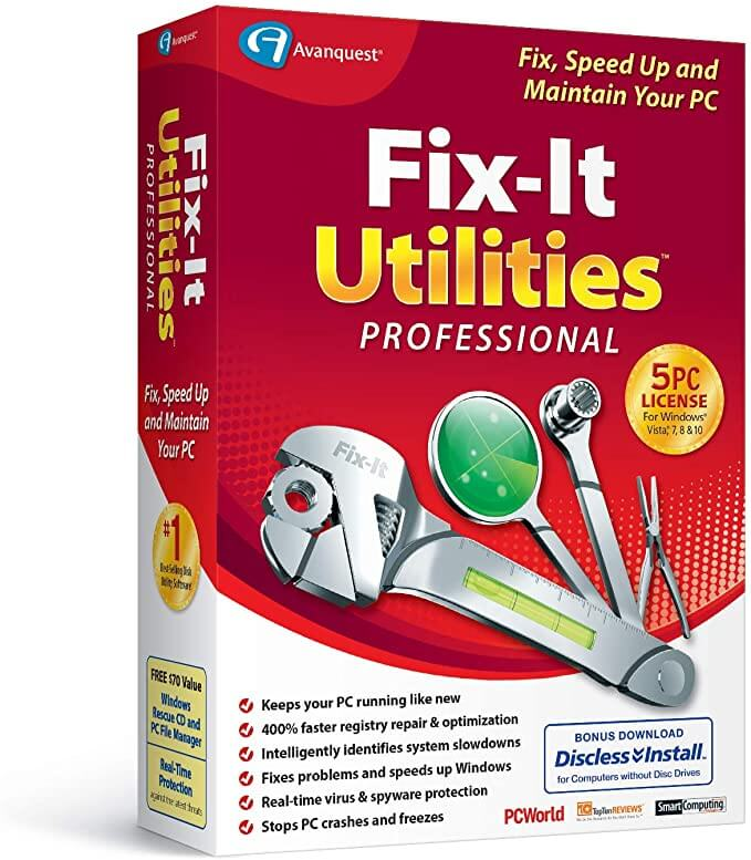 Fix-It Utilities Professional Free Crack Download Latest Version