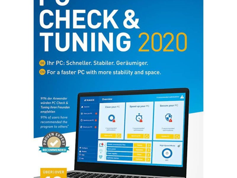 Magix PC Check & Tuning Download Free Crack Full Version 2020
