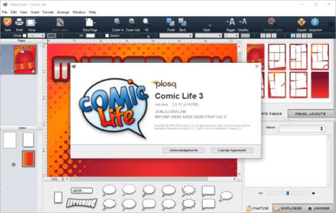 Comic Life 3.5.18 keygen