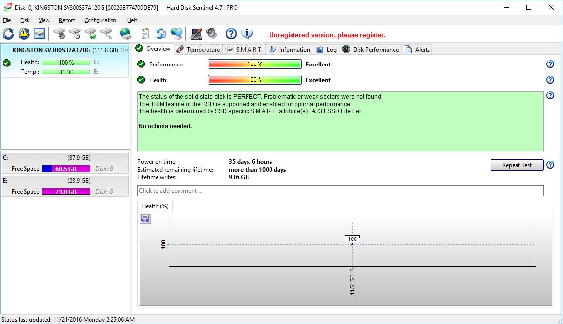 Hard Disk Sentinel Pro free crack