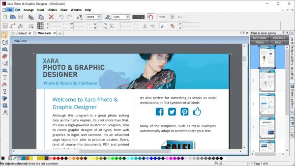 Xara Photo Graphic Designer free crack