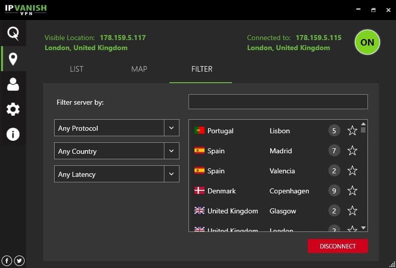 IPVanish VPN [3.6.2.12] free serial key 2021
