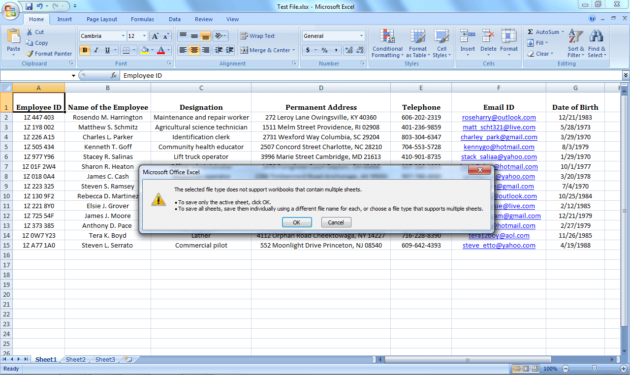 Excel To Vcard Converter license key