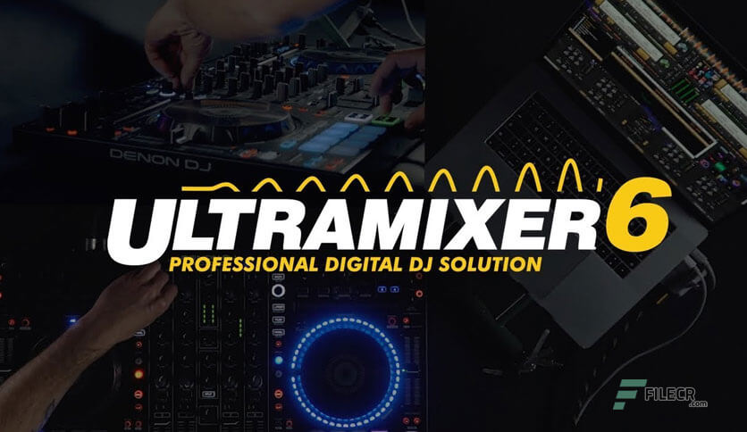 UltraMixer Pro Entertain 6.2.9 With Activation Code 2021 Free Download