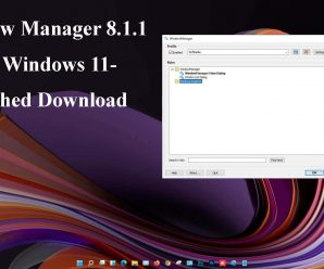 WindowManager [8.1.1] Free Download Crack Full Version 2021