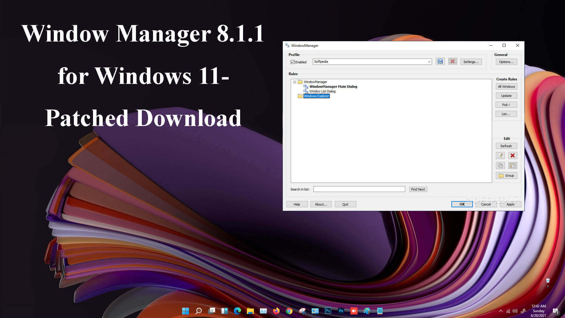 WindowManager [8.1.1] download